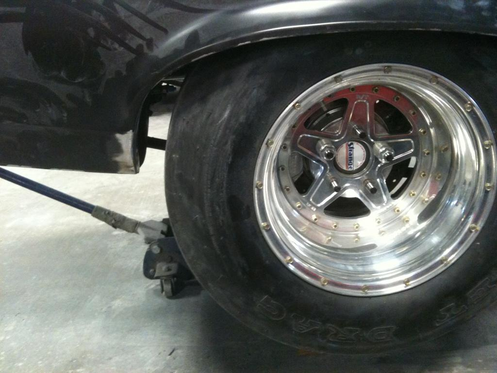 Right Rear Tire Clearance