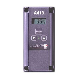 Johnson Controls A419 Digital Thermostat