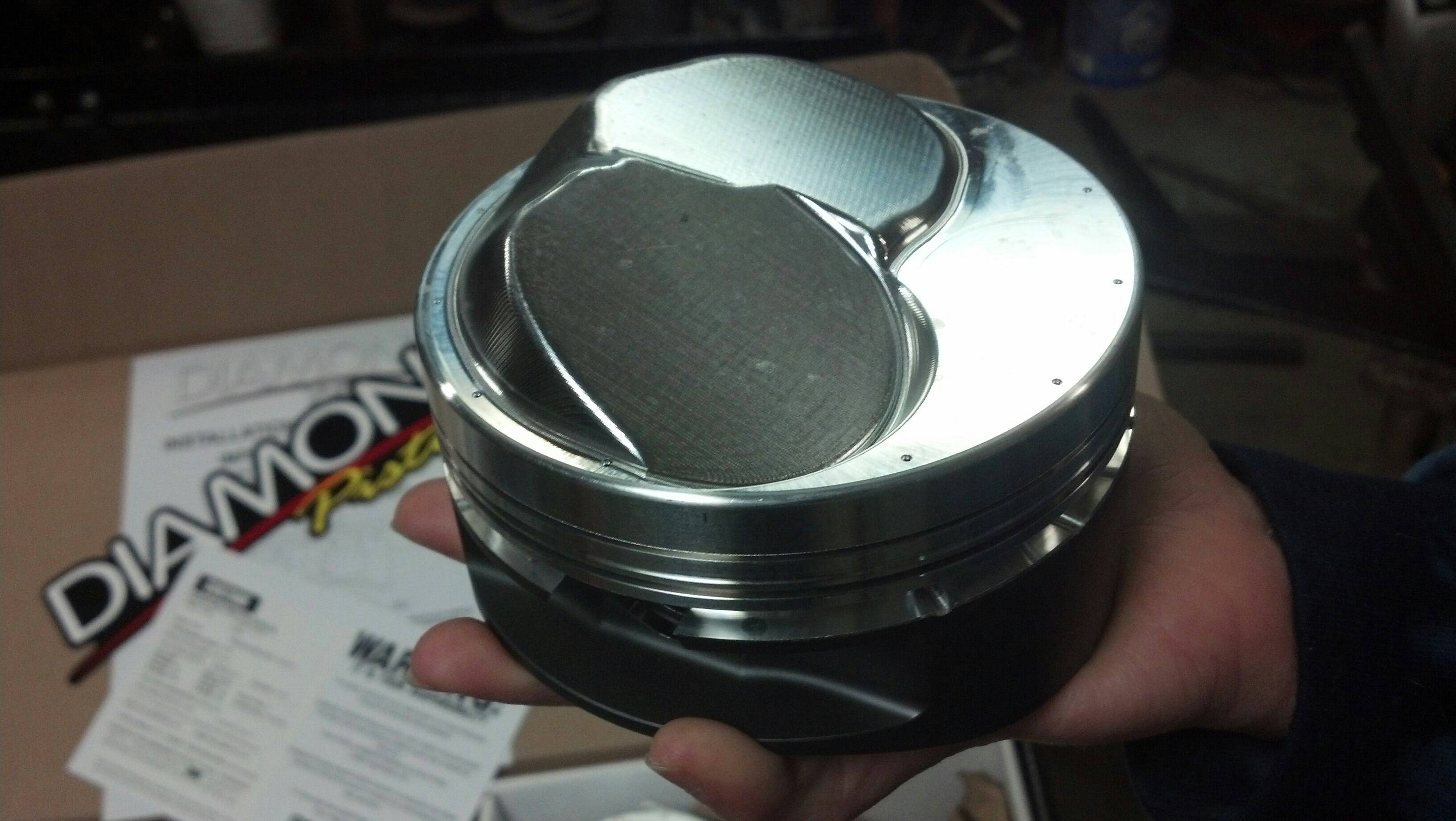 New Diamond Pistons