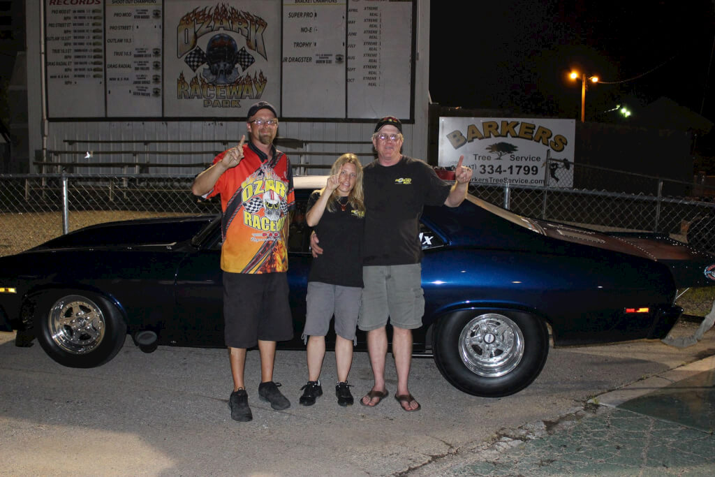 Hot August Nights Win at Ozark Raceway Park